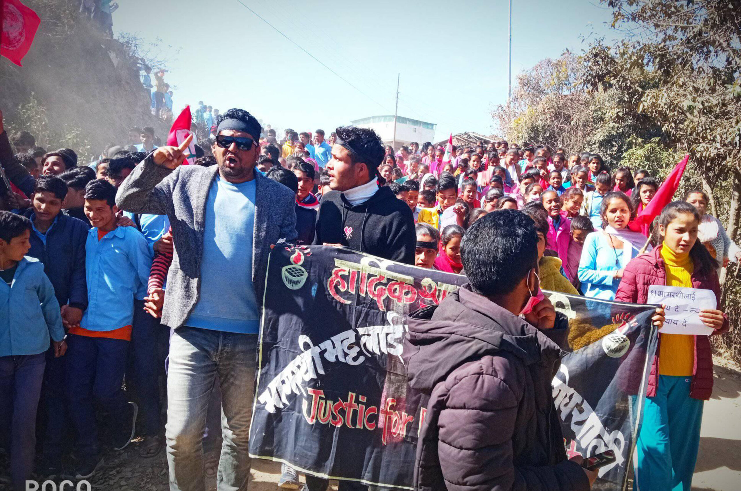 People demonstrate in Baitadi asking for justice for murdered Bhagirathi